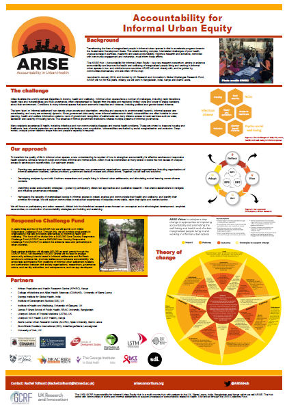 ARISE overview poster