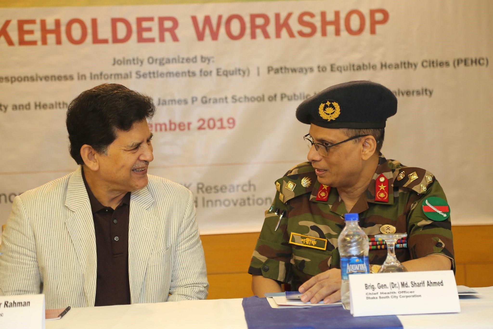 Bangladesh stakeholder workshop