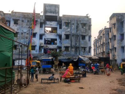 Relocation colony in Ahmedabad