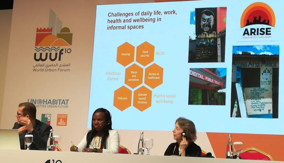 Health and wellbeing at WUF