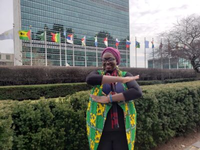 Bintu at the UN