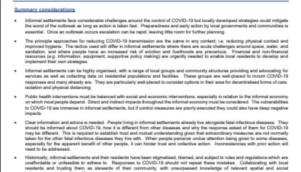 COVID-19 briefing