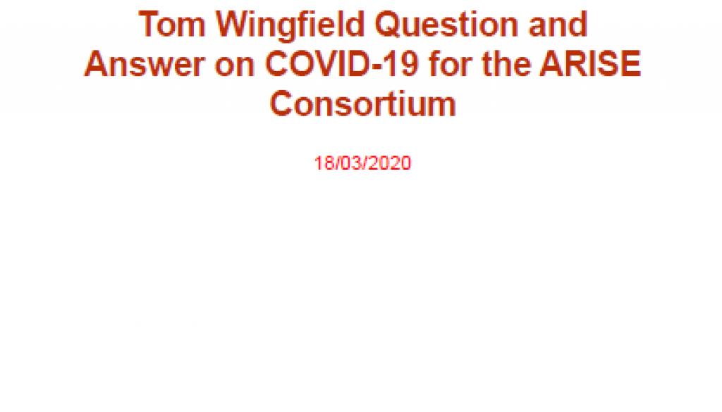 COVID-19 factsheet