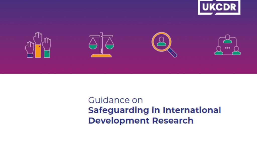 Guidance on safeguarding in international development research