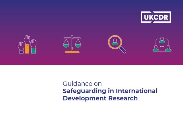 Guidance on safeguarding in international development research