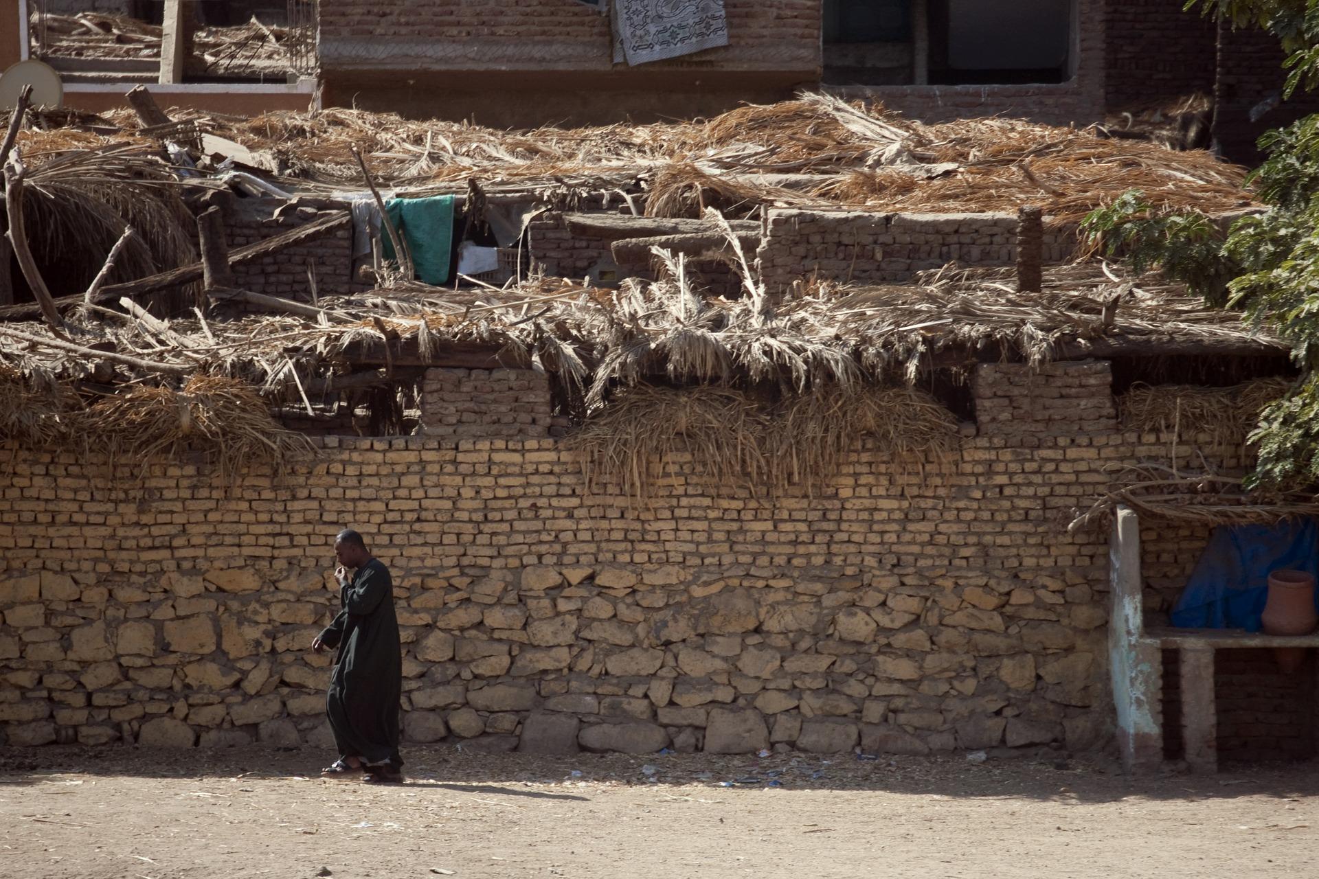 Informal settlement Egypt