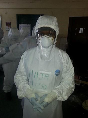 Haja in PPE for health workforce