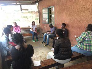 Staff sensitisation meeting in Kenya