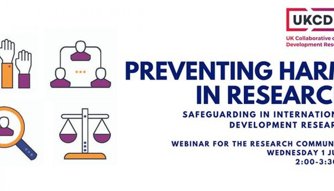 UKCDR safeguarding seminar