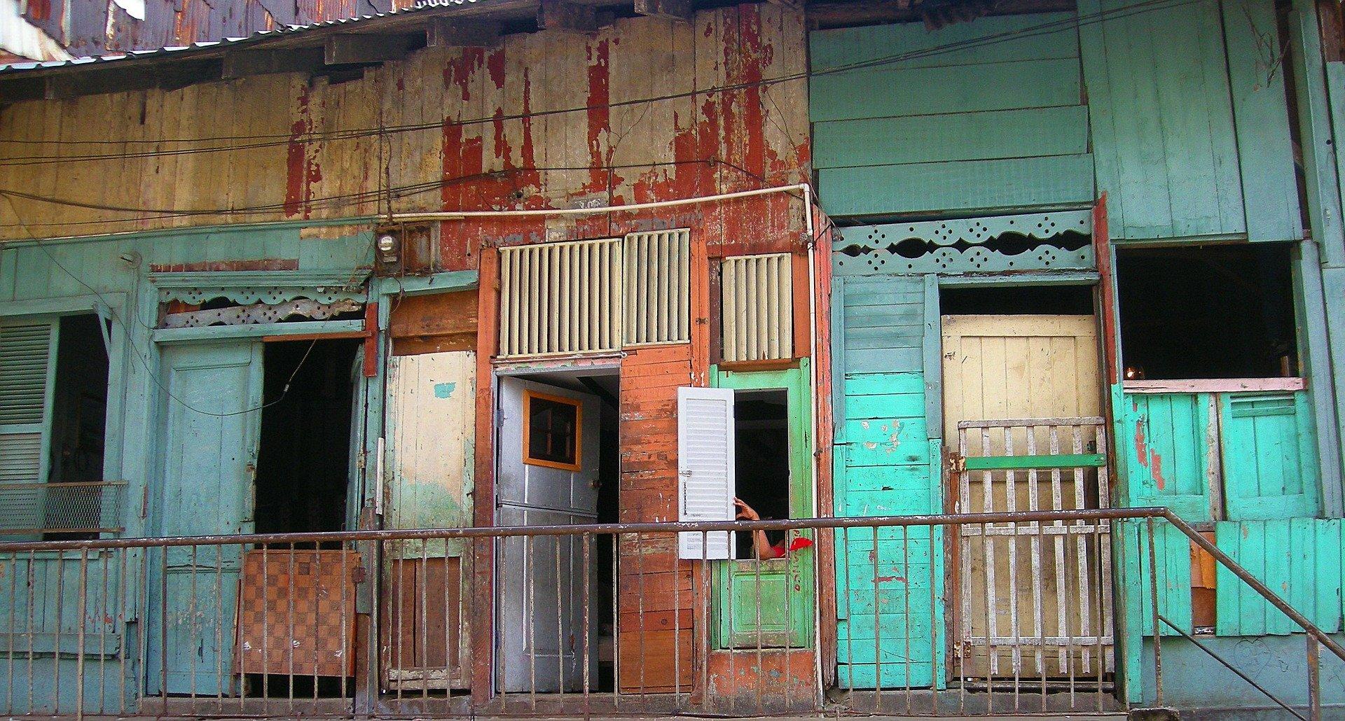 A slum scene for World Habitat Day