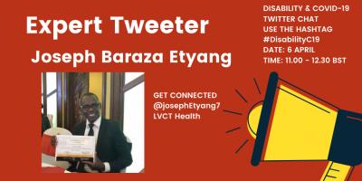 Joseph Baraza Etyang intro card