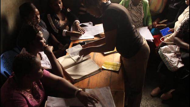 Womens leadership is built through federation saving schemes in Kenya
