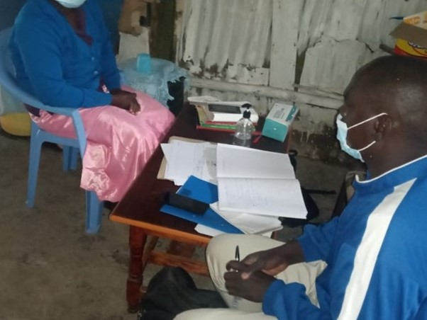 Data Collection in Korogocho Nairobi
