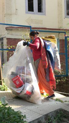 Door to door garbage collector in Shimla