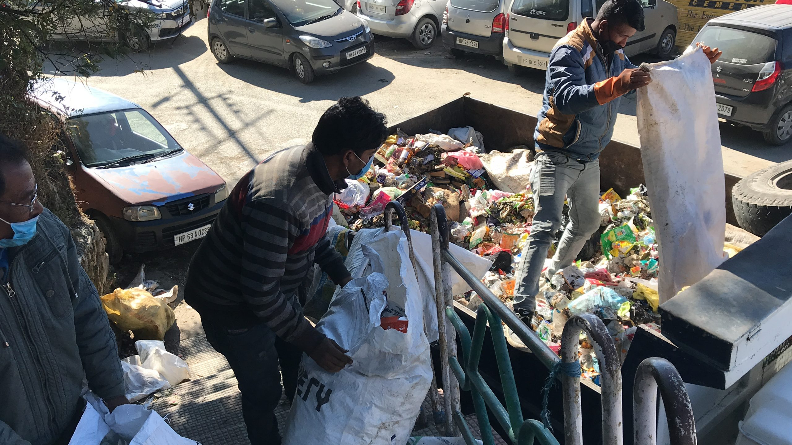 Garbage collection in Shimla