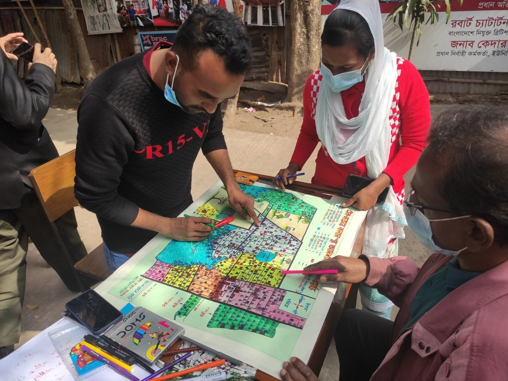 Group mapping in Bangladesh