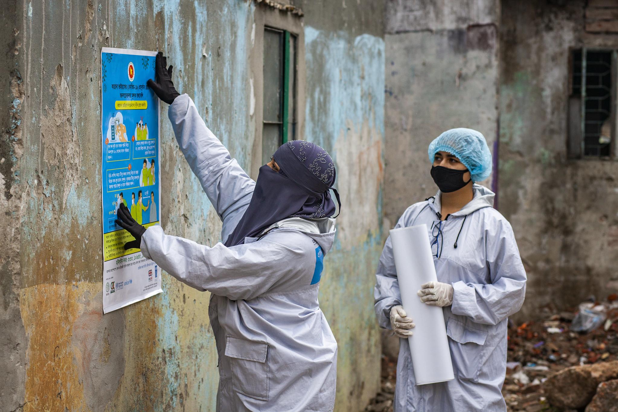 Pandemic response in Dhaka Bangladesh