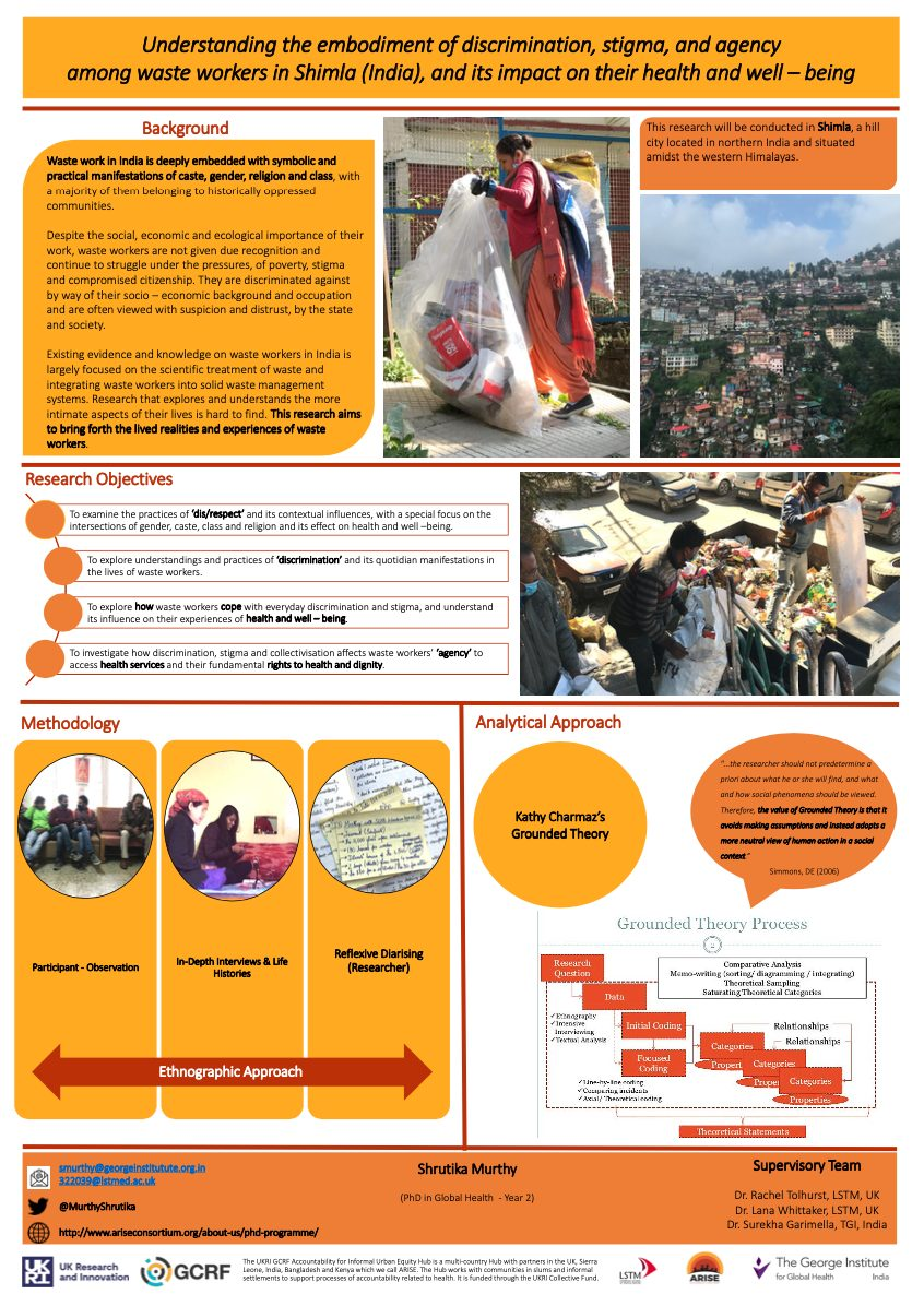 Understanding the embodiment of discrimination, stigma, and agency among waste workers in Shimla India and its impact on their health and wellbeing